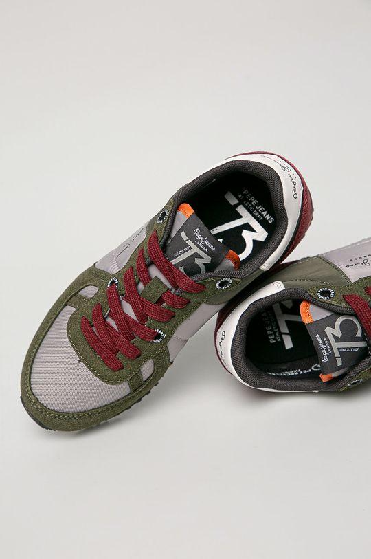брудно-зелений Pepe Jeans - Дитячі черевики SIdney Combi Boy