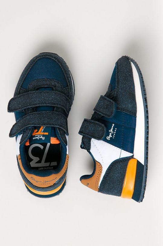 Pepe Jeans - Detské topánky Sydney Chlapčenský