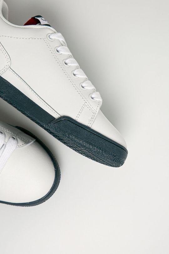 alb Pepe Jeans – Incaltaminte din piele pentru copii Lambert Basic