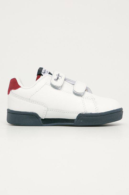 biela Pepe Jeans - Detské topánky Velcro Chlapčenský