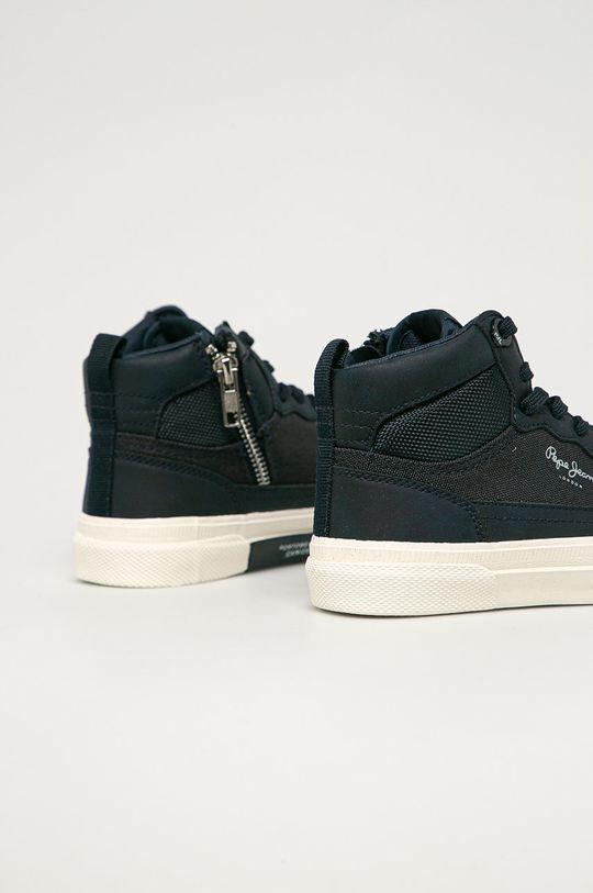 Pepe Jeans - Dětské boty Kenton Boot Boy  Svršek: Umělá hmota, Textilní materiál Vnitřek: Textilní materiál Podrážka: Umělá hmota