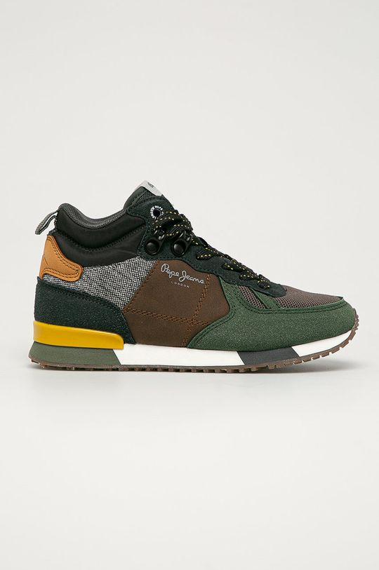 verde murdar Pepe Jeans - Pantofi copii Syndey De băieți