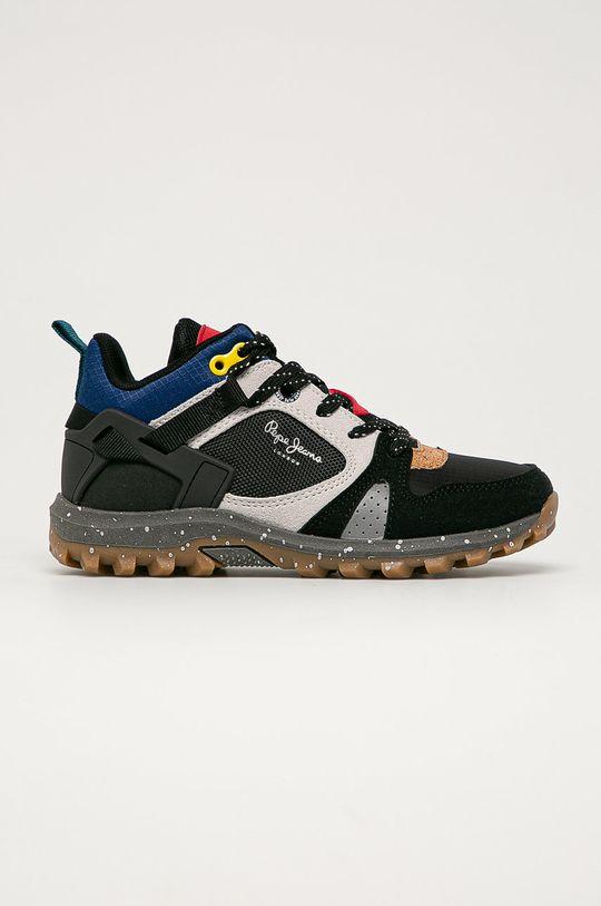 černá Pepe Jeans - Dětské boty Arcade Chlapecký