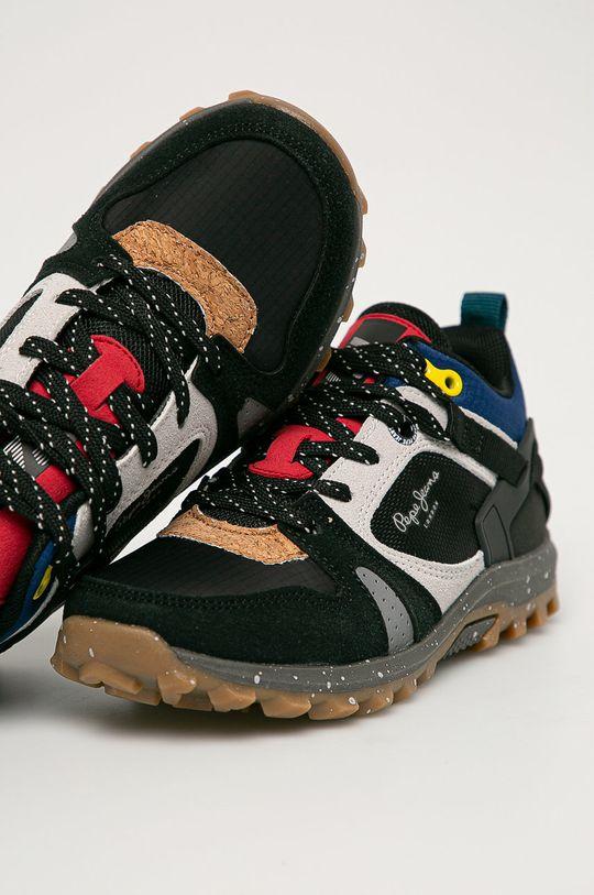 černá Pepe Jeans - Dětské boty Arcade