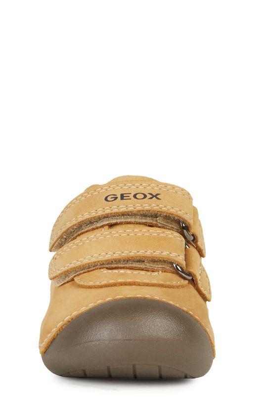 Geox - Półbuty dziecięce Cholewka: Skóra naturalna, Wnętrze: Skóra naturalna, Podeszwa: Materiał syntetyczny