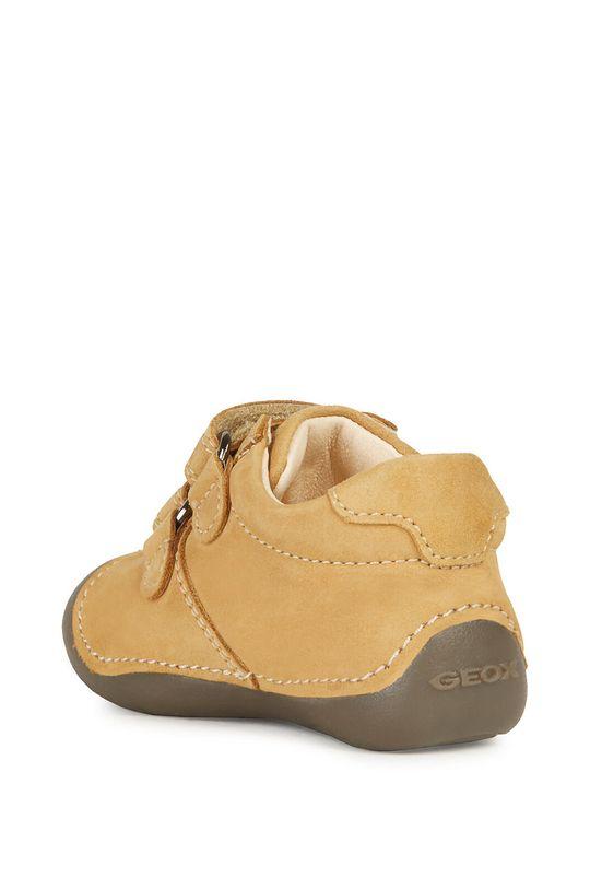 bursztynowy Geox - Półbuty dziecięce