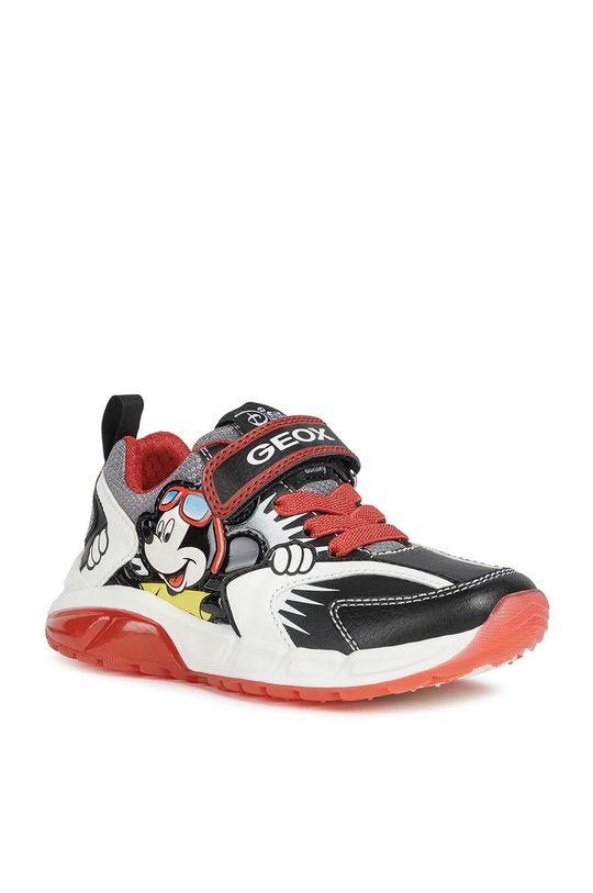 Geox - Detské topánky  Zvršok: Syntetická látka, Textil Vnútro: Syntetická látka, Textil Podrážka: Syntetická látka