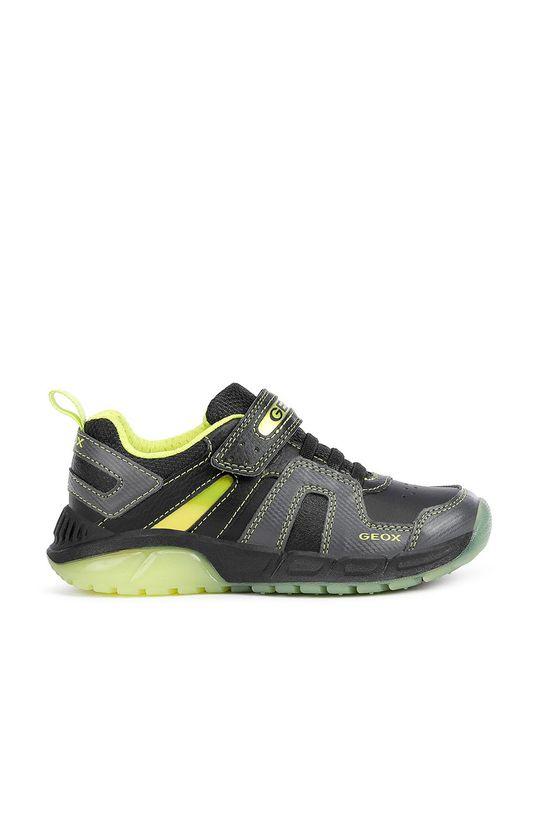 čierna Geox - Detské topánky Chlapčenský