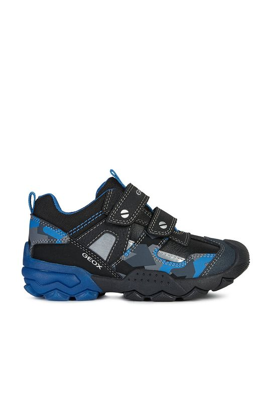 Geox - Detské topánky čierna