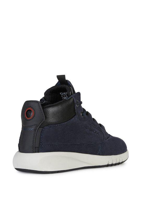 Geox - Detské kožené topánky Chlapčenský