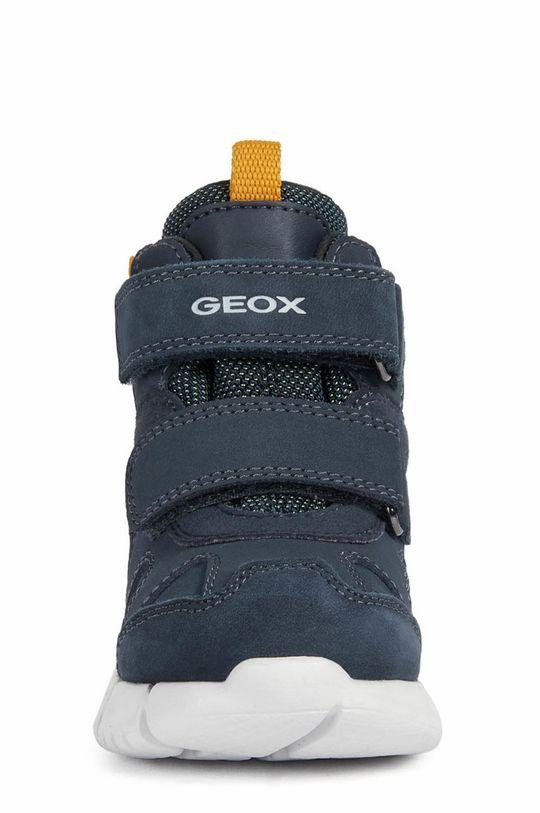 Geox - Detské kožené topánky  Zvršok: Textil, Prírodná koža Vnútro: Textil Podrážka: Syntetická látka