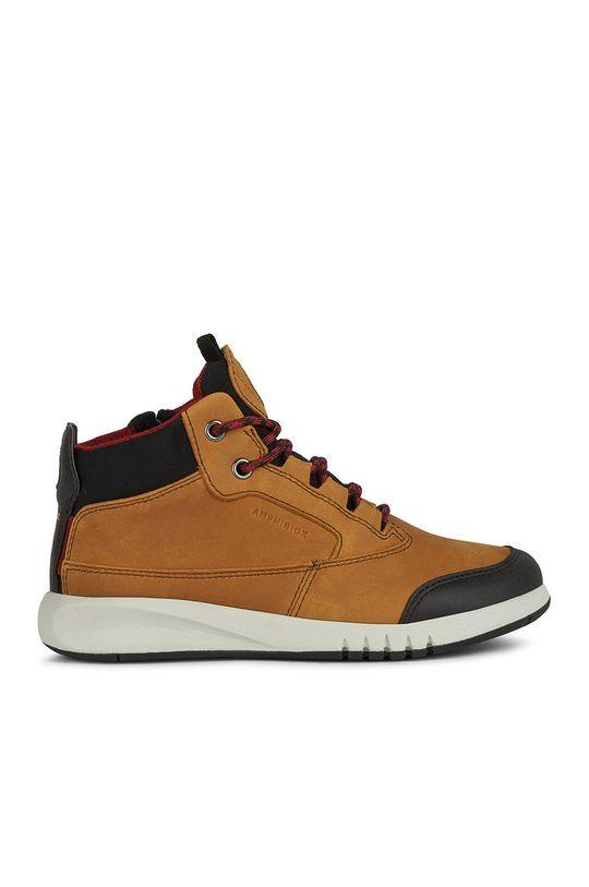 maro auriu Geox - Pantofi copii De băieți