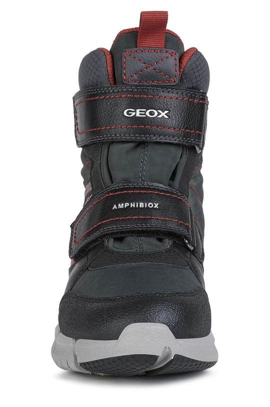 Geox - Dětské sněhule  Svršek: Umělá hmota, Textilní materiál Vnitřek: Umělá hmota, Textilní materiál Podrážka: Umělá hmota
