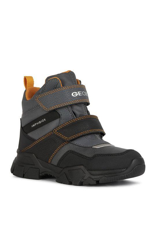 Geox - Cizme de iarna copii gri