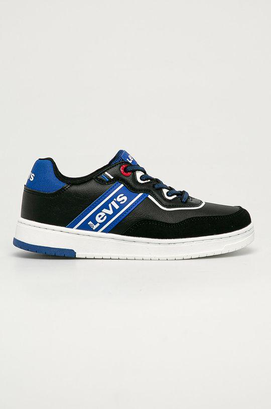 černá Levi's - Dětské boty Chlapecký