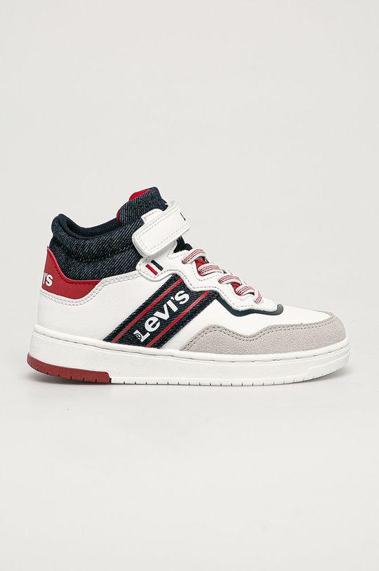 bílá Levi's - Dětské boty Chlapecký