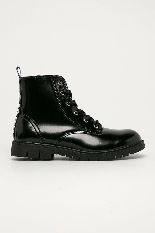čierna Levi's - Detské topánky Chlapčenský