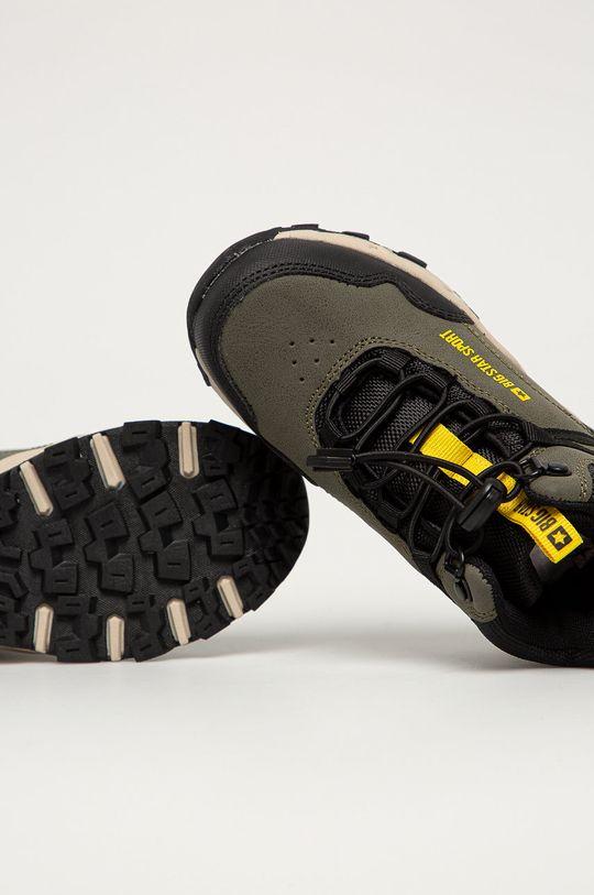 hnedozelená Big Star - Detské topánky