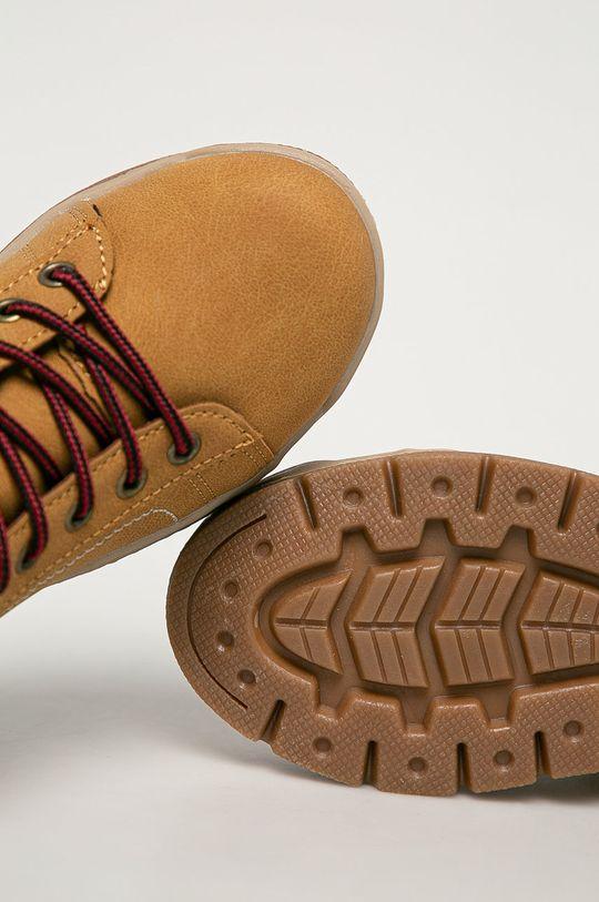 zlatohnědá Big Star - Dětské boty