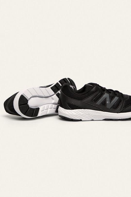 čierna New Balance - Detské topánky YK570BK