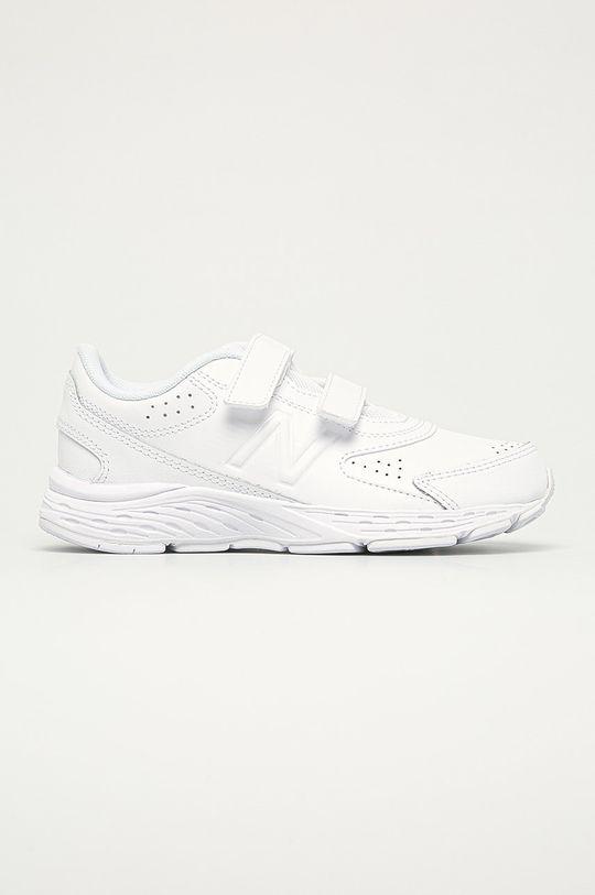bílá New Balance - Dětské boty YU680WW Chlapecký