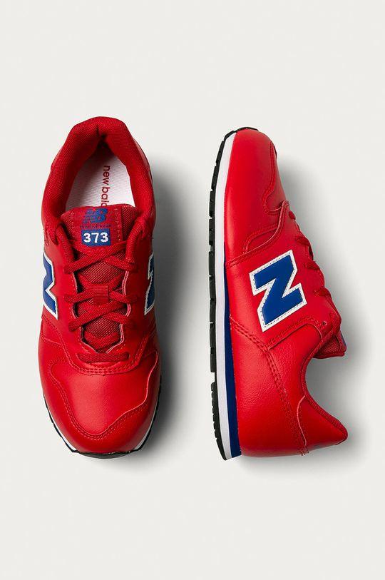 červená New Balance - Dětské boty YC373ERB