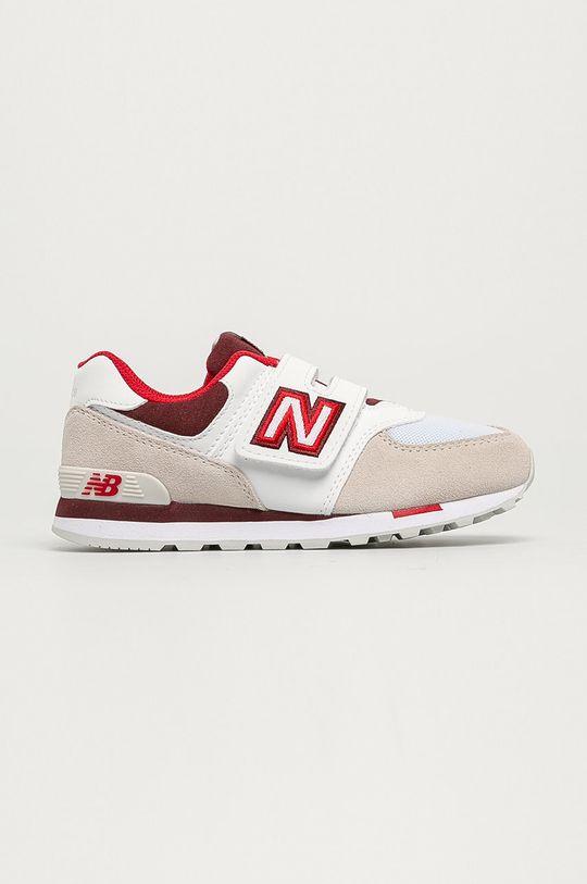 biały New Balance - Buty dziecięce YV574NLA Chłopięcy