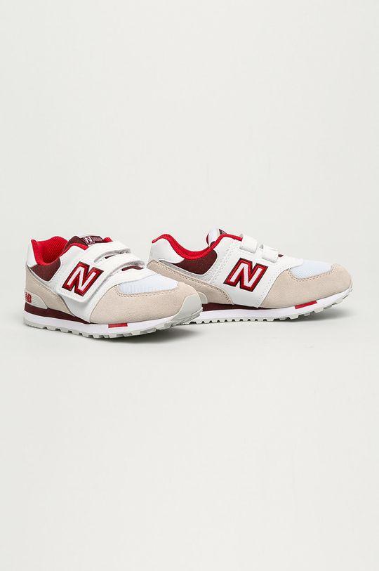 New Balance - Buty dziecięce YV574NLA biały
