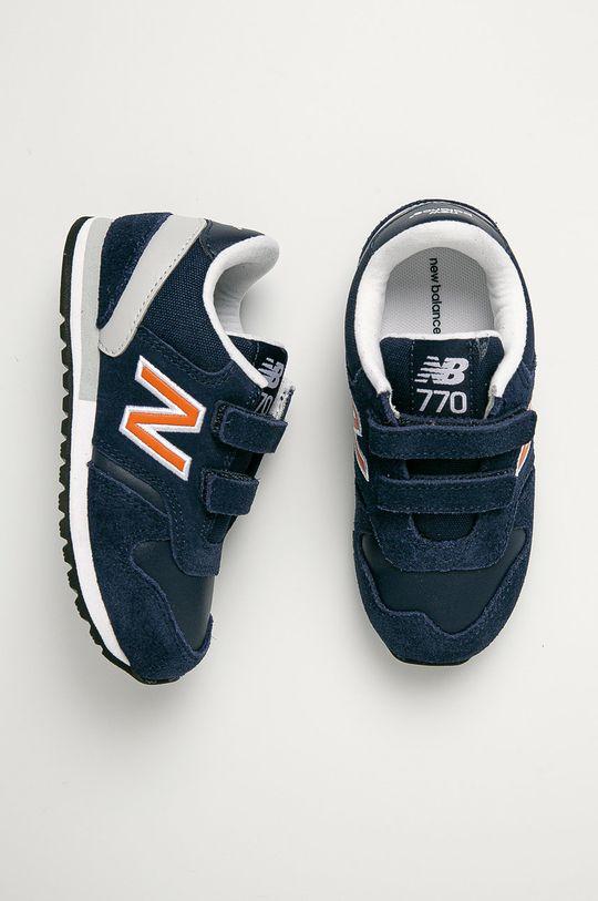 námořnická modř New Balance - Dětské boty IV770NO