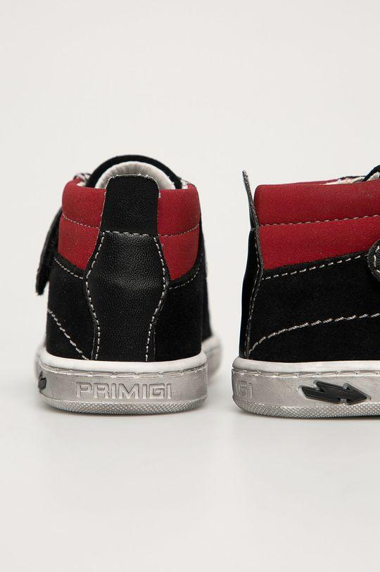 Primigi - Detské semišové topánky  Zvršok: Syntetická látka, Semišová koža Vnútro: Prírodná koža Podrážka: Syntetická látka