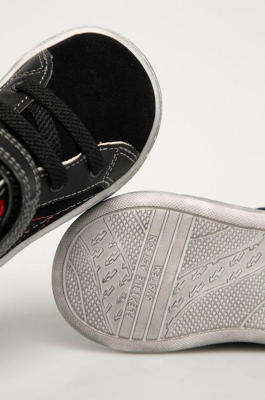 čierna Primigi - Detské semišové topánky