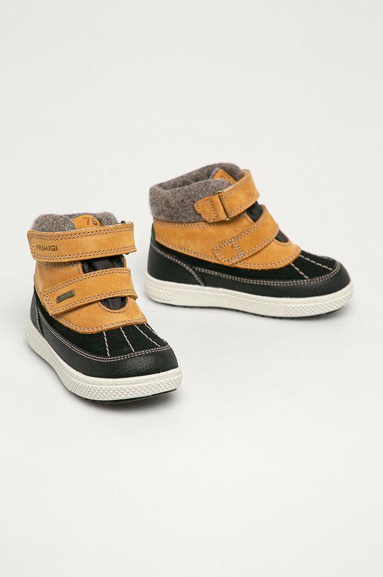 Primigi - Detské topánky zlatohnedá