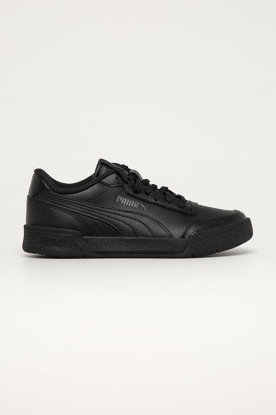 čierna Puma - Detské topánky Caracal Jr Chlapčenský