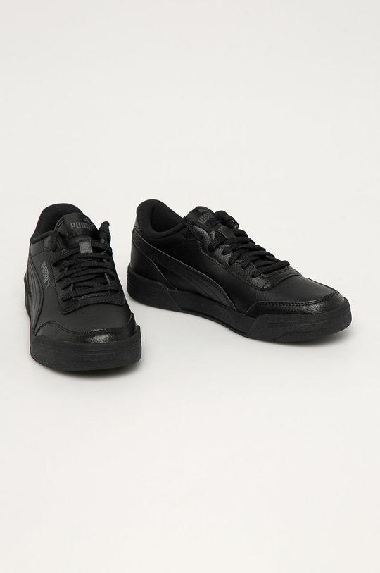Puma - Detské topánky Caracal Jr čierna