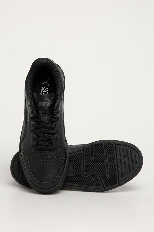 čierna Puma - Detské topánky Caracal Jr