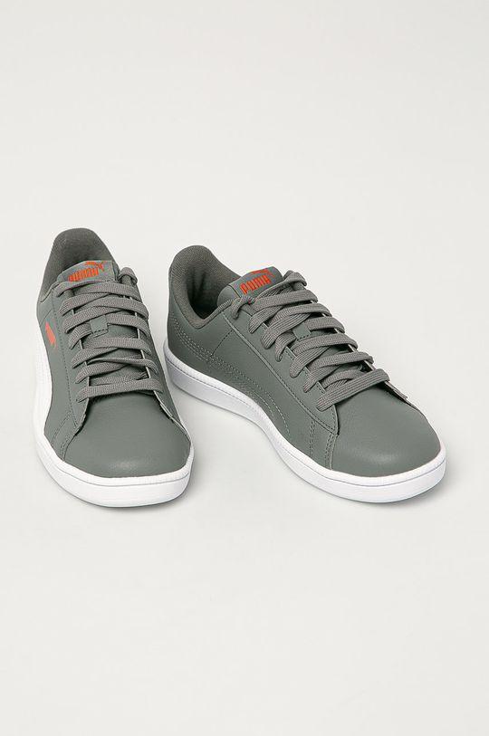 Puma - Dětské boty UP Jr šedá