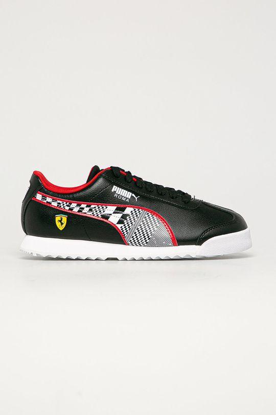čierna Puma - Detské topánky SF Roma Chlapčenský