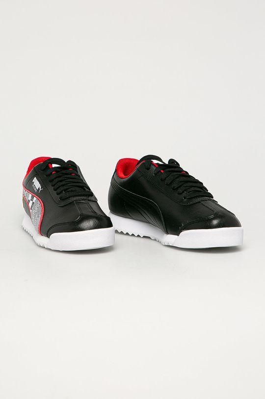 Puma - Detské topánky SF Roma čierna