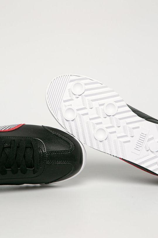 čierna Puma - Detské topánky SF Roma