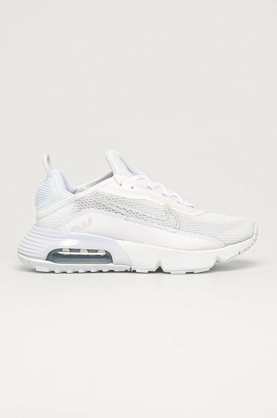 biela Nike Kids - Detské topánky Air Max 2090 Chlapčenský