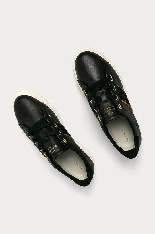czarny Gant - Buty skórzane Avona