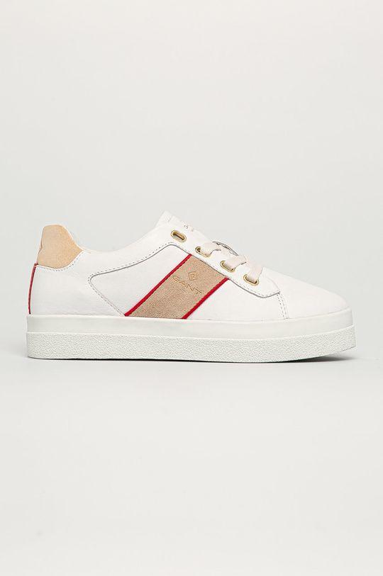 biały Gant - Buty skórzane Avona Damski