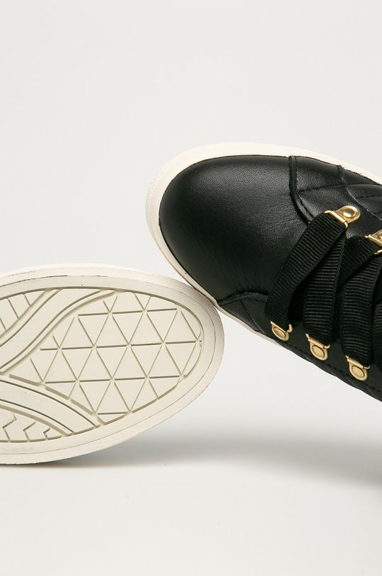 čierna Gant - Kožená obuv Avona