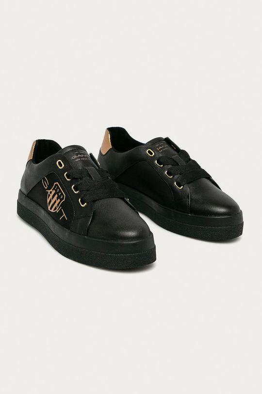 Gant - Ghete de piele Avona negru