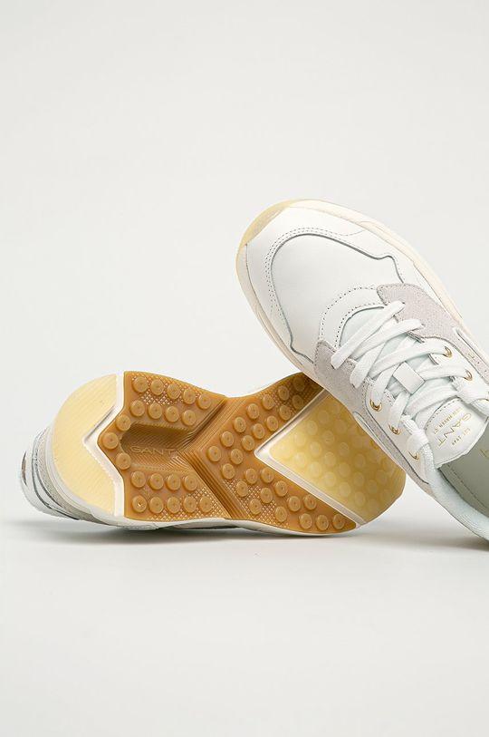biały Gant - Buty skórzane Nicewill