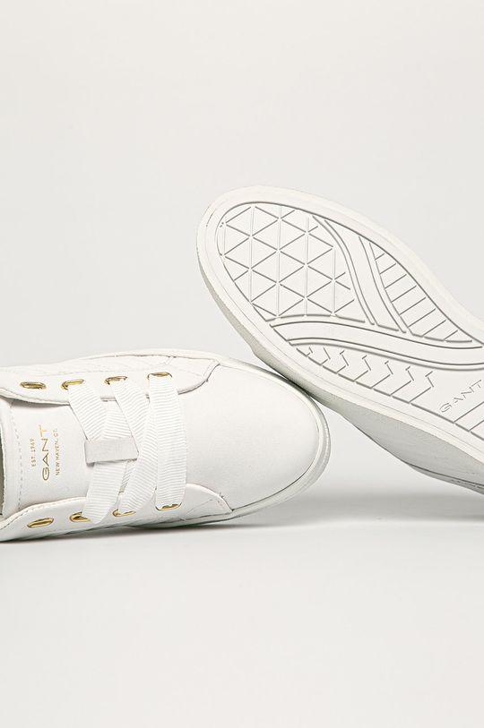 biały Gant - Buty skórzane Avona