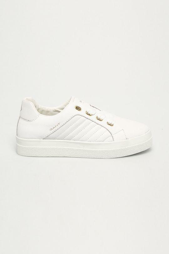 biela Gant - Kožená obuv Avona Dámsky