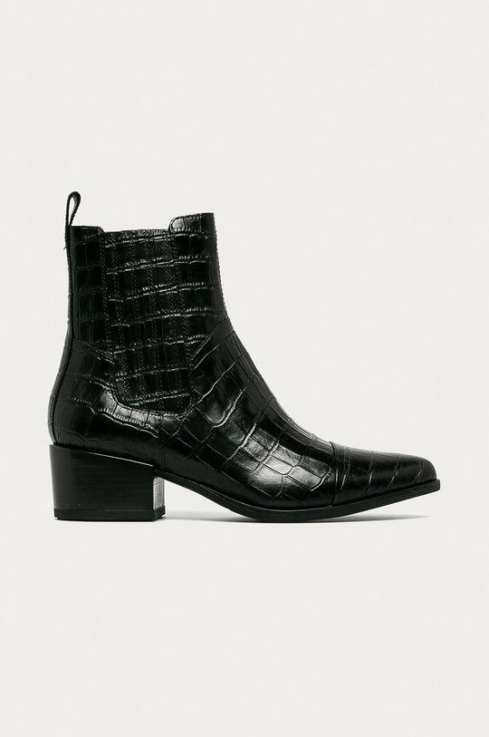 černá Vagabond - Westernové kožené boty Marja Dámský