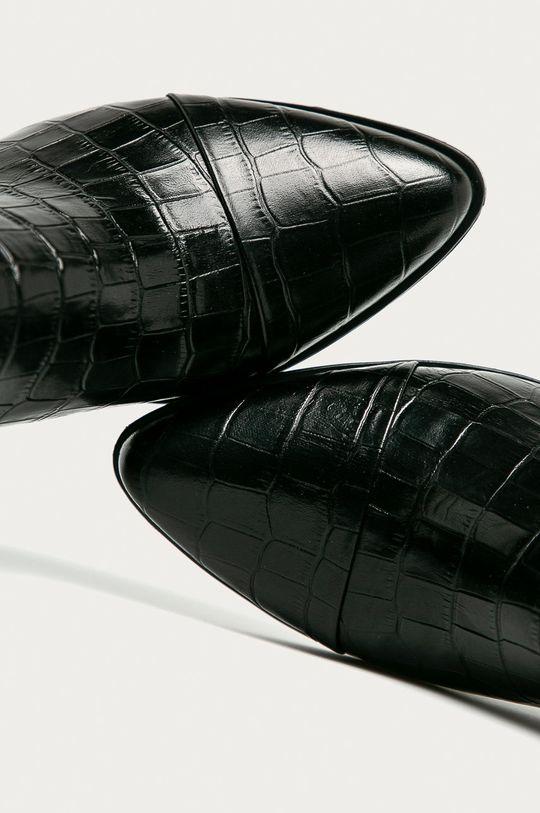 černá Vagabond - Westernové kožené boty Marja