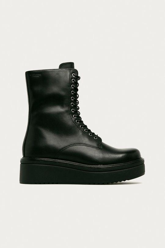 černá Vagabond - Kožené kotníkové boty Tara Dámský